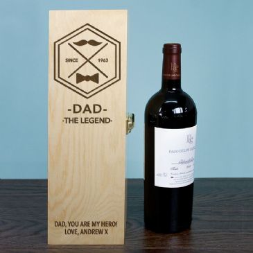 Legend Dad's Wine Box